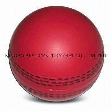 PU Foam Stress Ball Cricket Ball Shape