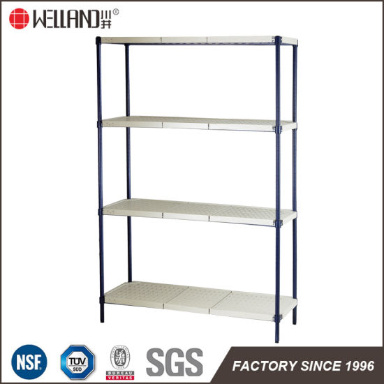 China Commercial Restaurant Kitchen Storage Rack Adjustable Recycle ...