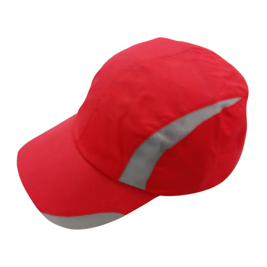 17f5ba99653 China Orange Hot Sale Polyester Sport Cap with Net 1638 - China ...