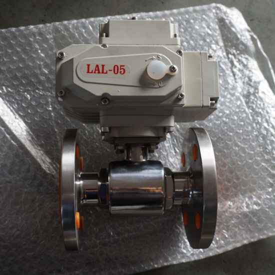 High Pressure Flange End Pneumatic Ball Valve for Steam Industry