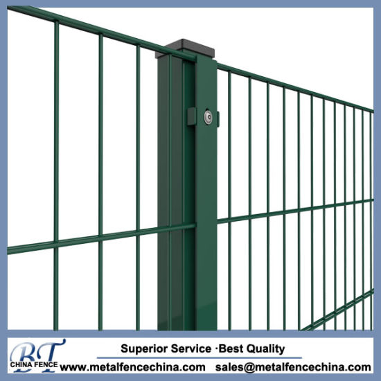 China 868/656/545 PVC Coated Welded Double Wire Fencing - China ...