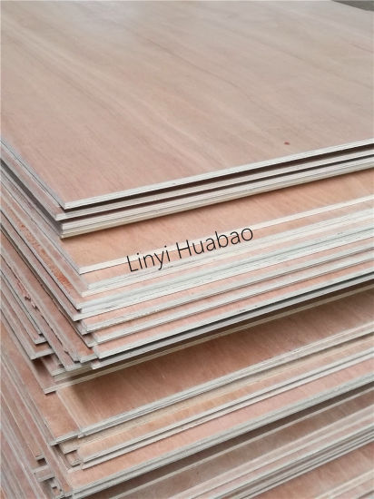 Bintangor/Red Meranti/Okoume Plywood, Commercial Plywood pictures & photos