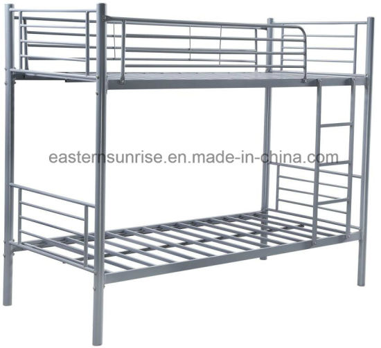 China Furniture Metal Pipe Double Beds Steel Metal Beds China