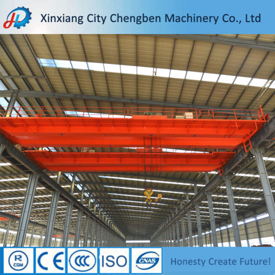 Lh Model 5 Ton Double Girder Overhead Travelling Cranes pictures & photos