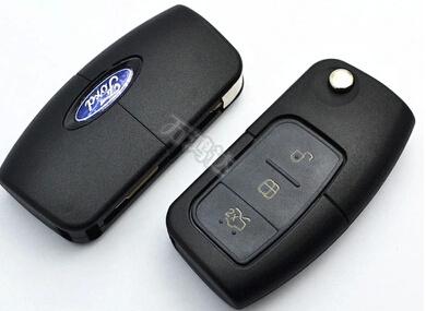 China Flip Remote Car Key For Ford Fiesta Focus Mendio China Smart