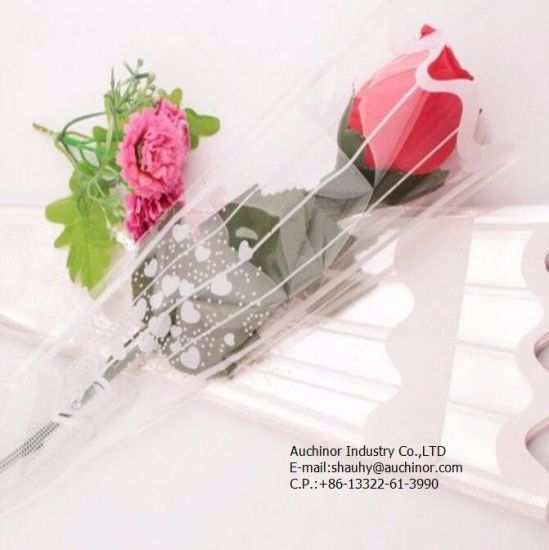 Flower Sleeves for Flower Packaging, Flower Bag, Clear Flower Sleeves pictures & photos