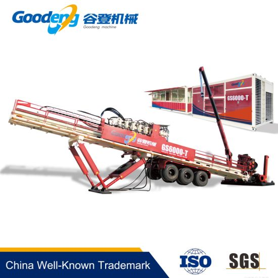 China 600T(TS) Goodeng pipeline crossing machine HDD machine - China