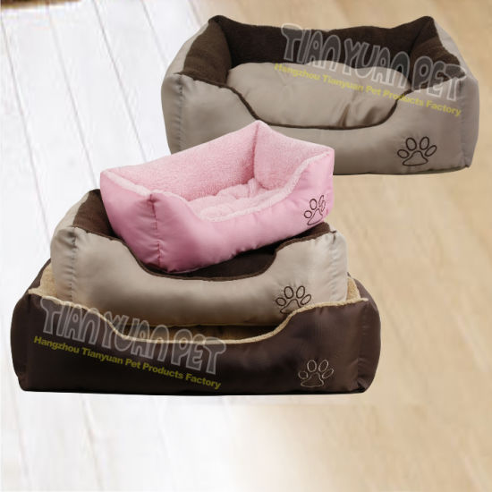 China Warm Dog Beds With Removable Cushion Yf73175