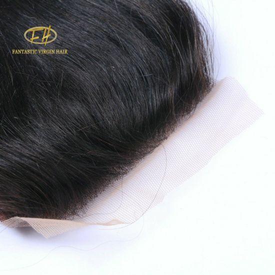 Wholesale Human Virgin Hair Lace Closure with No Shedding