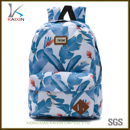 7acb0593656d China Custom Polyester Sublimation Print School Backpack Bag - China ...
