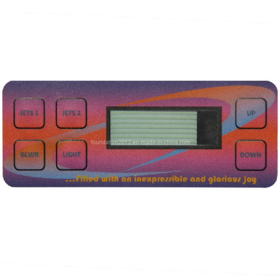 Digital Control Keypad Press Touch Push Button Membrane Switch