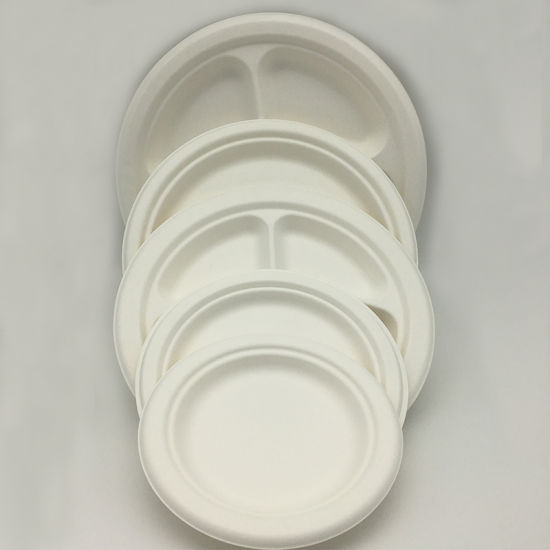 Sugarcane Biodegradable Plates Bagasse Paper Plate & China Sugarcane Biodegradable Plates Bagasse Paper Plate - China ...