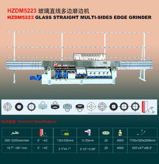 Glass Straight Multic Side Edge Machine