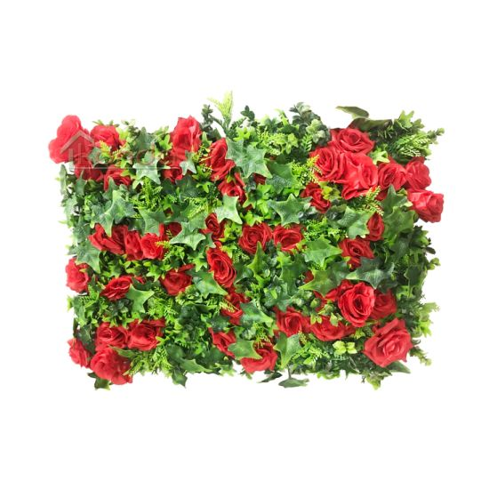 Wedding Decoration Artificial Flower Grass Wall Backdrop Panels Wedding Party