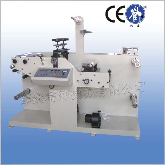 Round Knife Rotary Die Cutting Machine with Slitting Function pictures & photos
