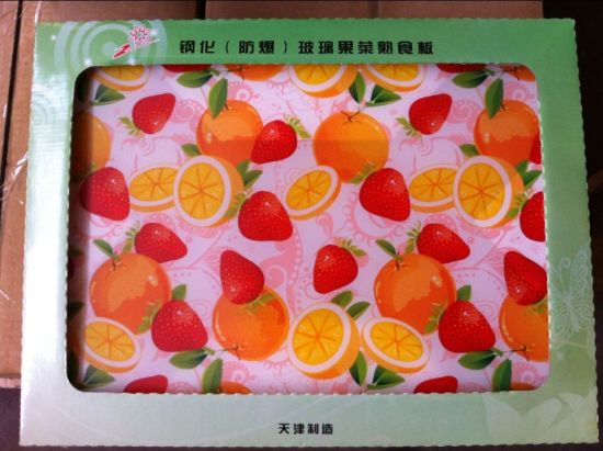 Tempered Glass Cutting Board for Kitchen Use