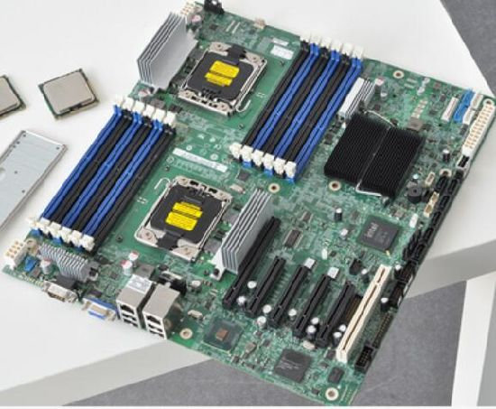 S5520hc Dual 1366/X58 Motherboard Support X5650 X5680