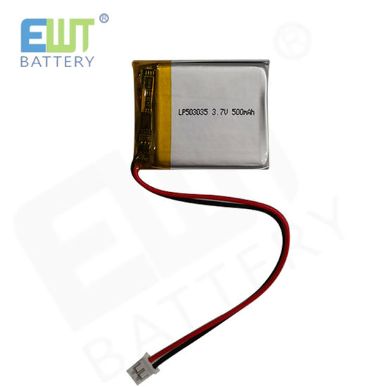 Factory Customized Square Lithium Polymer Battery Lp503035 500mAh