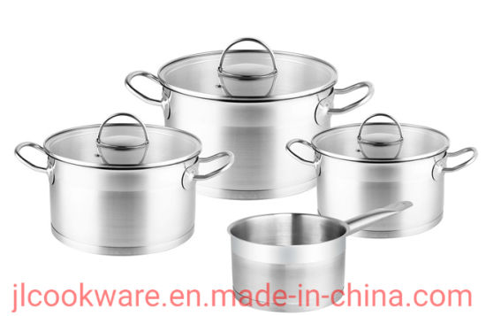 7 PCS Stainless Steel Cookware Set