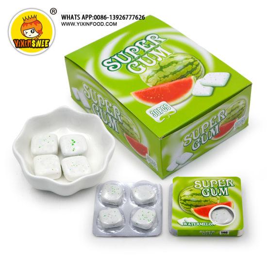 4PCS Fruit Flavor Chewing Gum