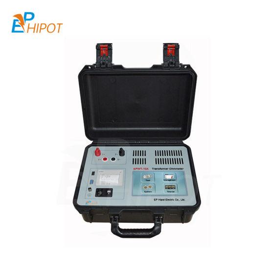 Portable 10A Transformer DC Ohmmeter