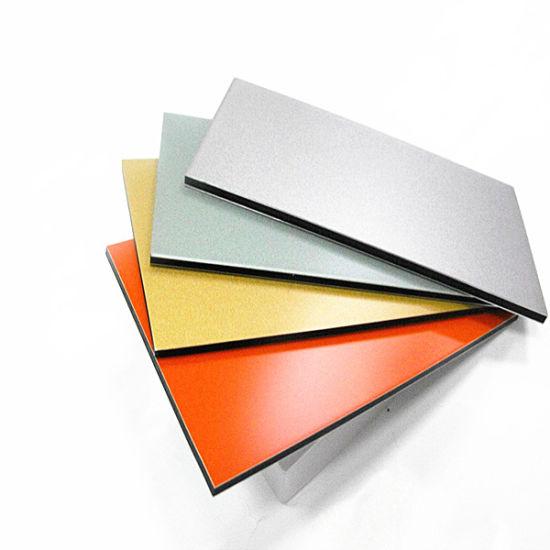 1mm-18mm Curved Aluminum Panels Acm Design Aluminium Composite Panel