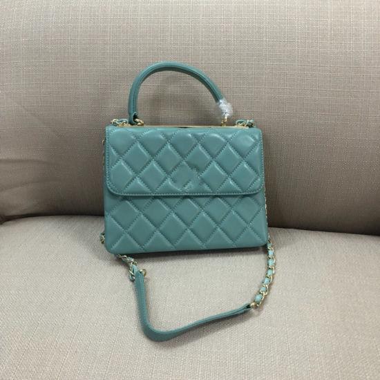 High Quality Genuine Leather Luxury Lady Shoulder Handbag