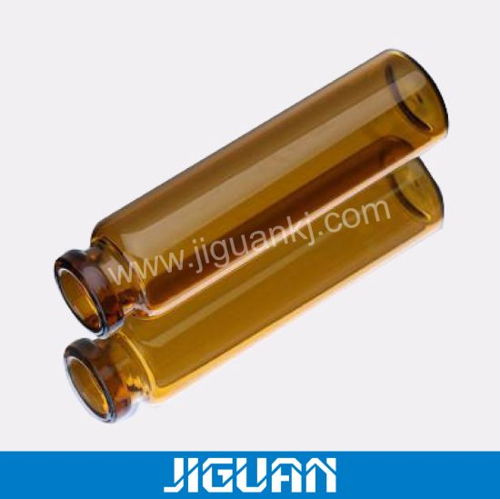 HGH Quality Transparent Glass Material Small Glass Vial pictures & photos