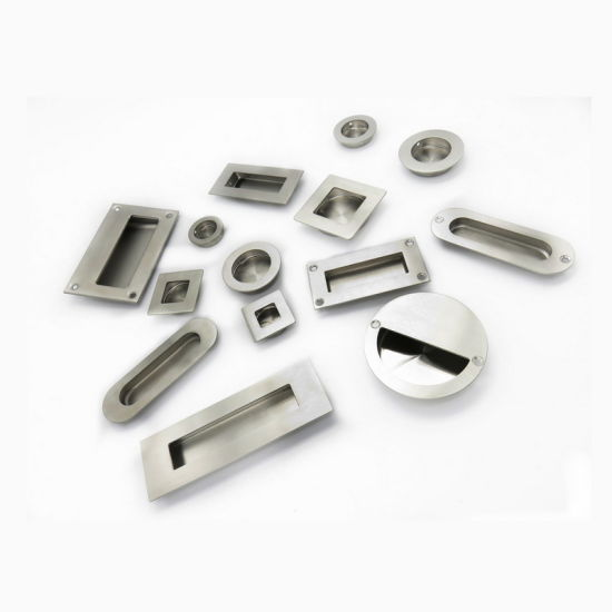 Different Size Stainless Steel Furniture Cabinet Recessed Flush Mount Pull Handle