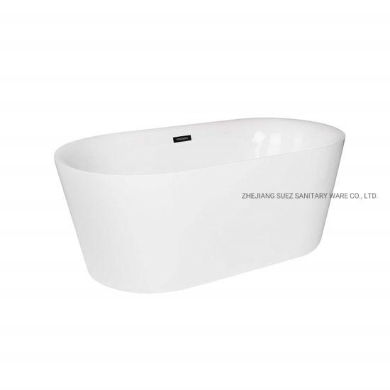 Acrylic Freestanding Bath Tub for Soaking Hot Tub