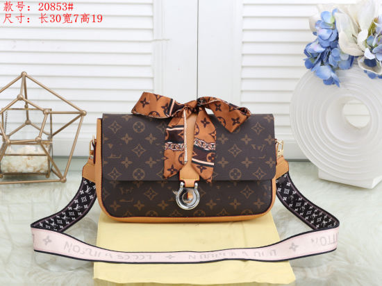 PU Leather Ladies Shoulder Handbag Lady Tote Bag pictures & photos