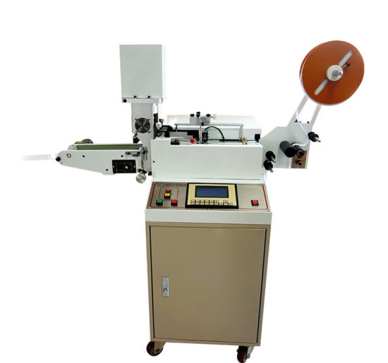 High Speed Ultrasolic Satin Fabric Labels Cutting Machine (WL-203/203A)
