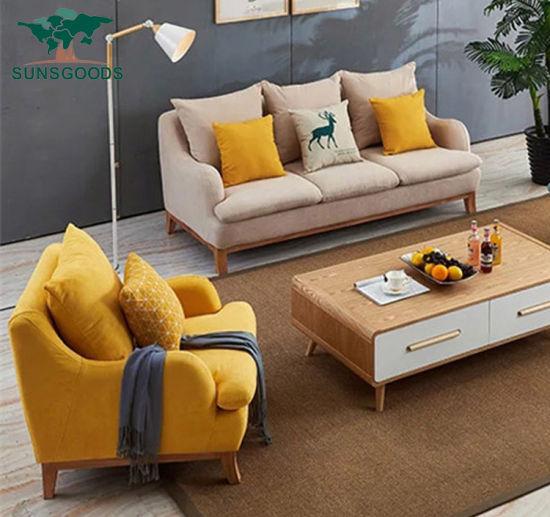 Foshan 3 Seater Fabric Sofa