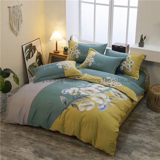 High Quality 100% Cotton Bed Sheet and Bedding Set