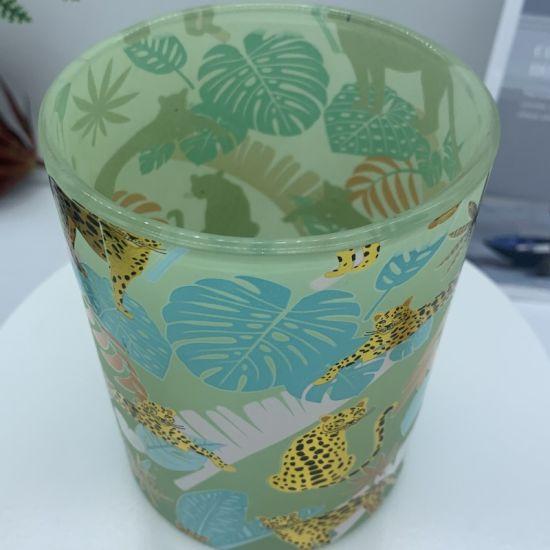 Glass Factory Wholesales Modem Minimalist Wind Decal Animal Glass Storage Tank, Glass Ware