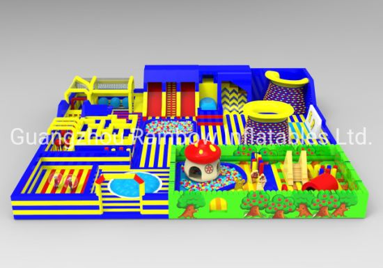 New Design Inflatable Theme Park Trampoline Park Indoor and Outdoor Use pictures & photos