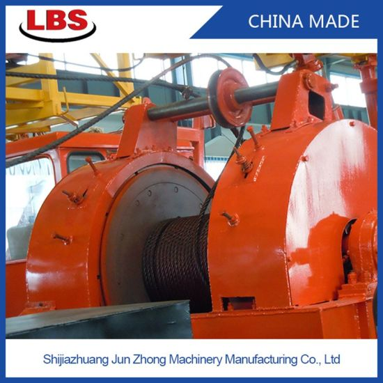 Lebus Groove Drum Anchor Mooring and Boat Power Machine Winch
