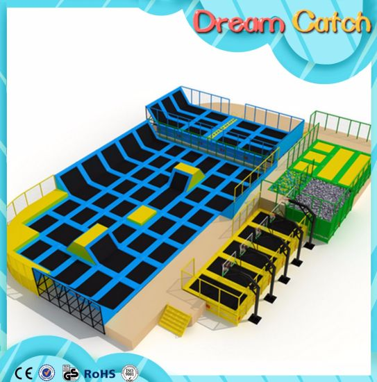 Trampoline Park for Kids Zone or Play Center pictures & photos