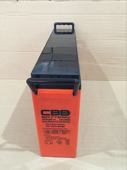 175ah 12V Front Terminal AGM Battery for Railroad Signal pictures & photos