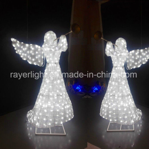 Lighted Angel Outdoor Christmas Decorations.2017 Outdoor Christmas Decorations Led Angel Lighting Decoration