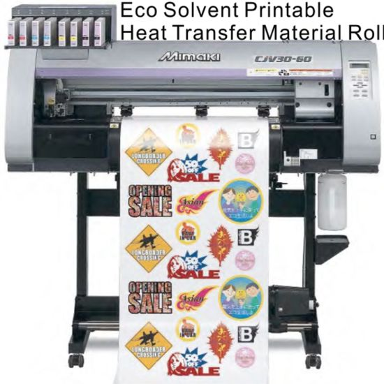 Hot Selling Dark Eco-Solvent Heat Transfer Paper for Textile pictures & photos