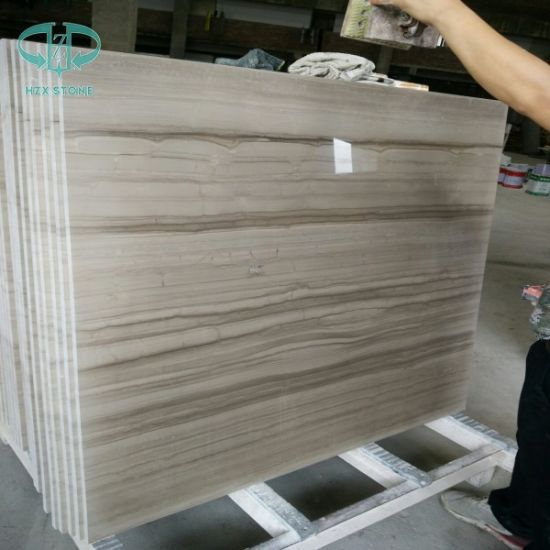 Athens Grey/China Grey/Wooden Vein/Wood Grey Marble for Countertop/Wall Tile/Flooring Tile pictures & photos