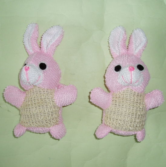 Promotion Sisal Rabbit Animal Bath Sponge Baby Bath Toy pictures & photos