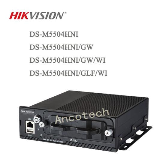 Hikvision Surveillance 4CH CCTV Car Recorder Mobile NVR (DS-M5504HNI/GW)