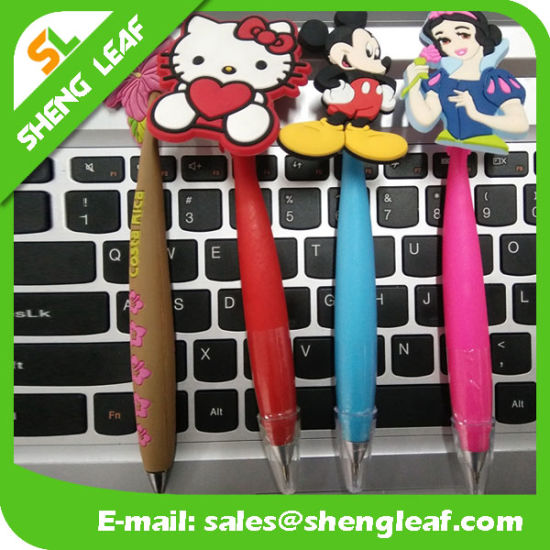 Kids Animal Cartoon Rubber Pen pictures & photos