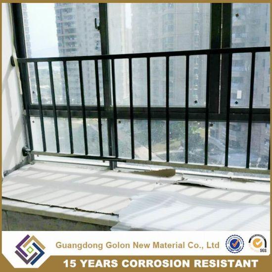Outdoor Apartment Galvanized Steel Balcony Railing