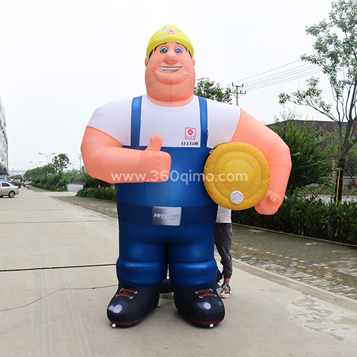 Inflatable Giant Builder for Advertising Building Worker Inflatable Cartoon pictures & photos