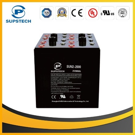 Medical Equipment Power Backup Storage Battery (2V 2000ah SMF and lead acid AGM type) pictures & photos