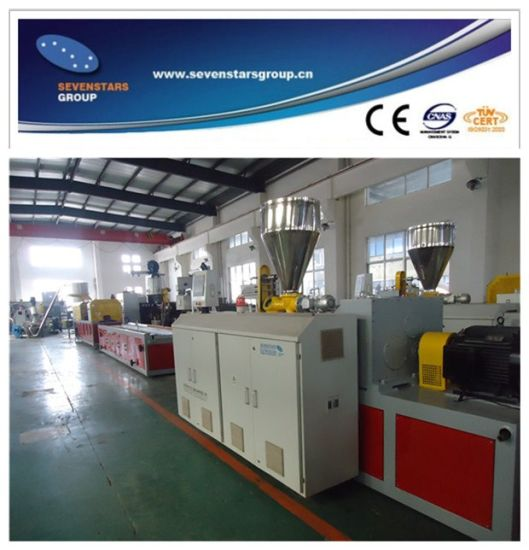 PVC Profile Extrusion Machine Line with Great Quality