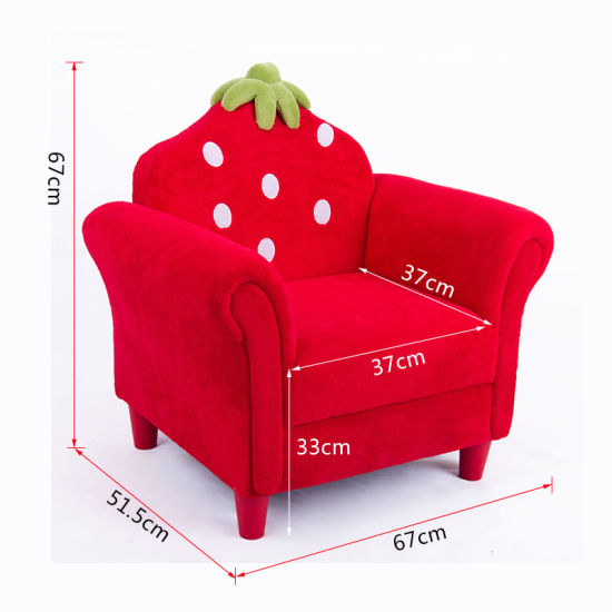 Hot Sale Single Fabric Kids Sofa with Middle Size/ Children Furntiure pictures & photos